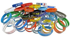 bracelets imprimés