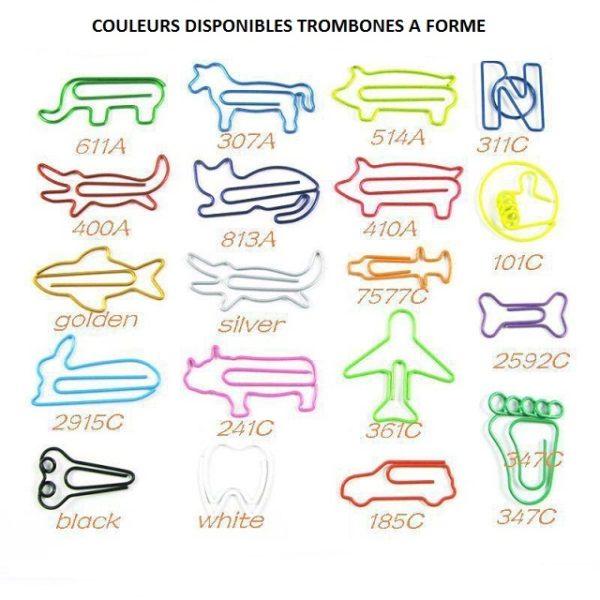 trombones formes animaux