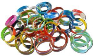 bracelets caoutchouc personnalisés