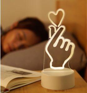 Lampe de nuit LED personnalisé